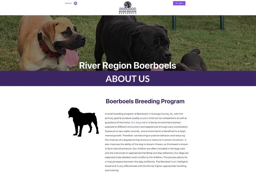 River Region Boerboels screen shot
